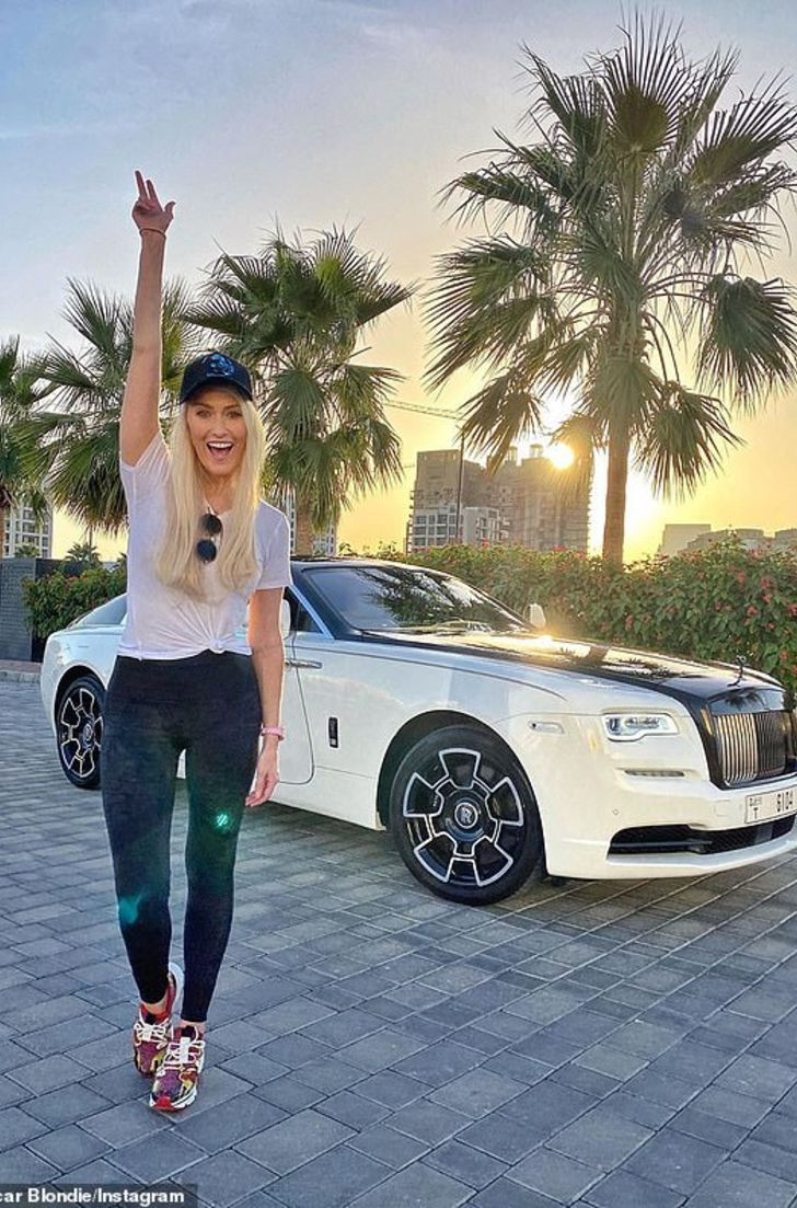 In Insight Into Supercar Blondie S Love Life Her Boyfriend And Childhood In 2020 Rolls Royce Wraith Black Rolls Royce New Cars