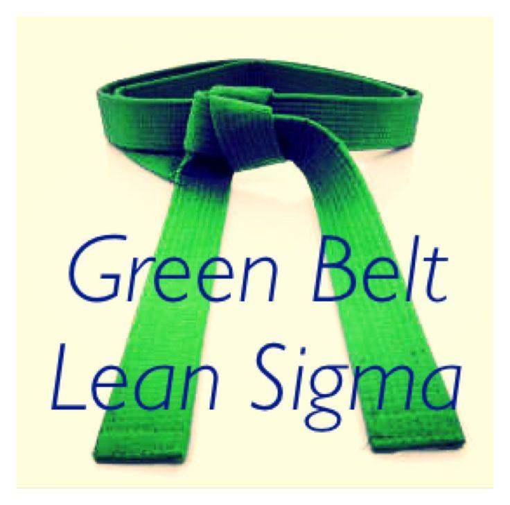 Formación Green Belt. http://www.gycsigma.co/Green%20Belt.html #sixsigma #leanmanufacturing #lean #greenbelt #formacion