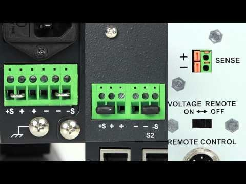 How-to Use the Remote Sense Feature on a Power Supply