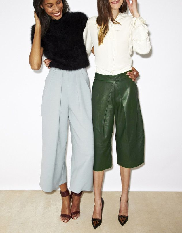 Culottes Become the Silhouette of the Season