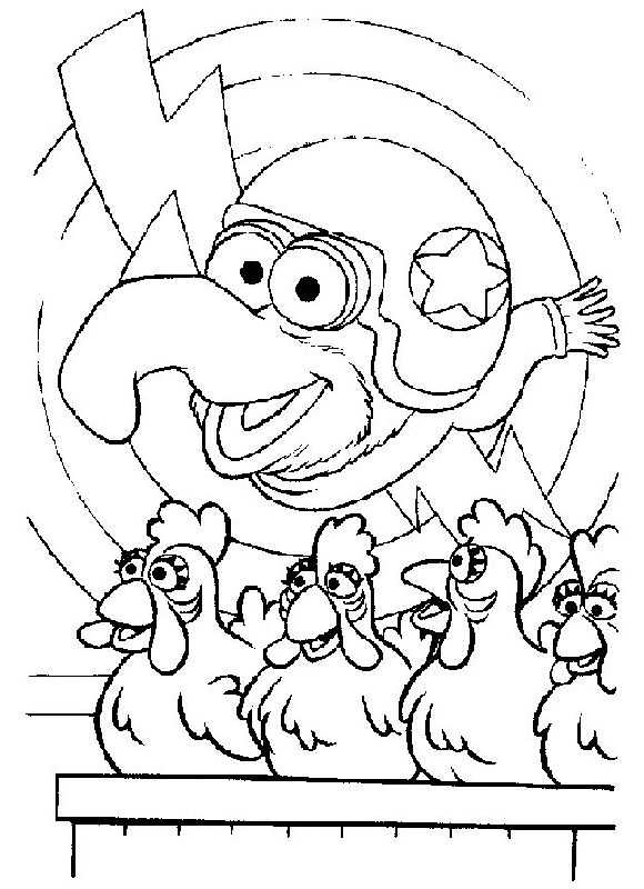 Muppets Coloring Pages 54