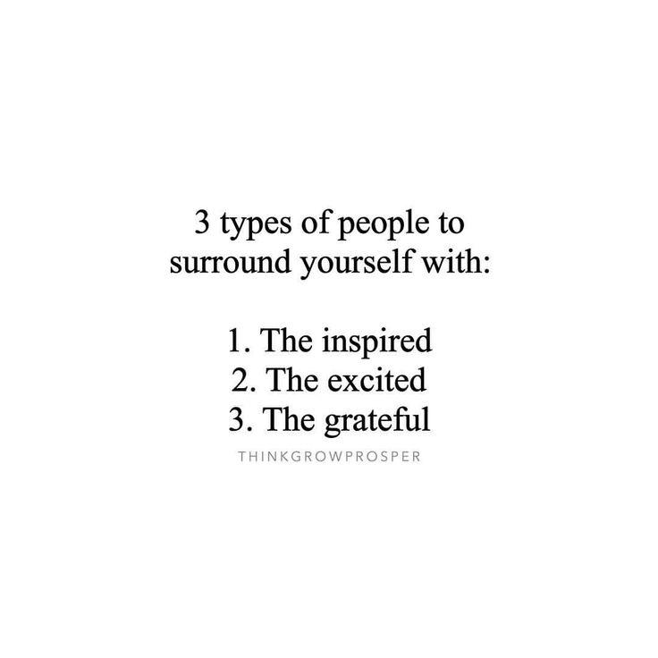 Keep yourself in good company.