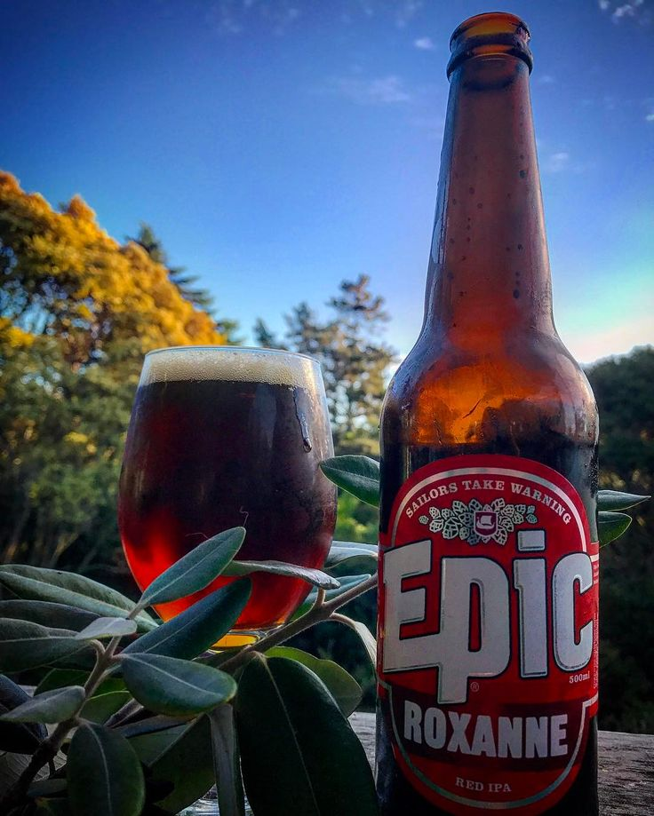 Perfect evening for a Roxanne Red IPA!