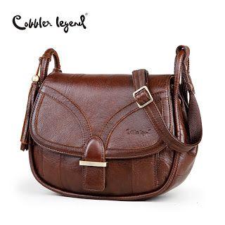 Cobbler Legend Brand Designer 2017 Womens Genuine Leather Vintage Single Shoulder Bag Women Crossbody Bags Handbags For Ladies (32453722548)  SEE MORE  #SuperDeals