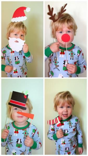 photo booth props.. So doing this for holiday cards!