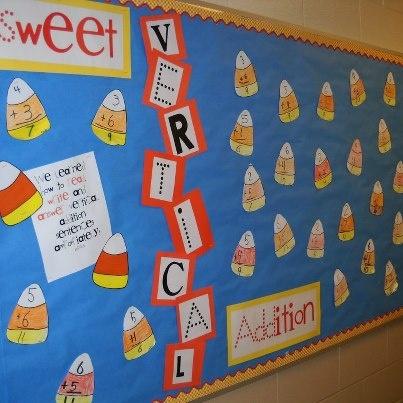math bulletin board ideas elementary - Google Search