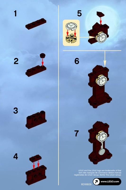 lego instructions | LEGO Ghost Set 30201 Instructions Viewer | Brick Owl - LEGO…