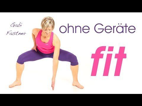 24 min. Home - Fitness ohne Hilfsmittel - YouTube