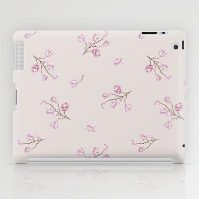 Almond's Blossoms iPad Case by Evgenia Drouga - $60.00