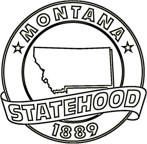 montana coloring pages - 88 best happy mt day 11 8 1889 images on pinterest