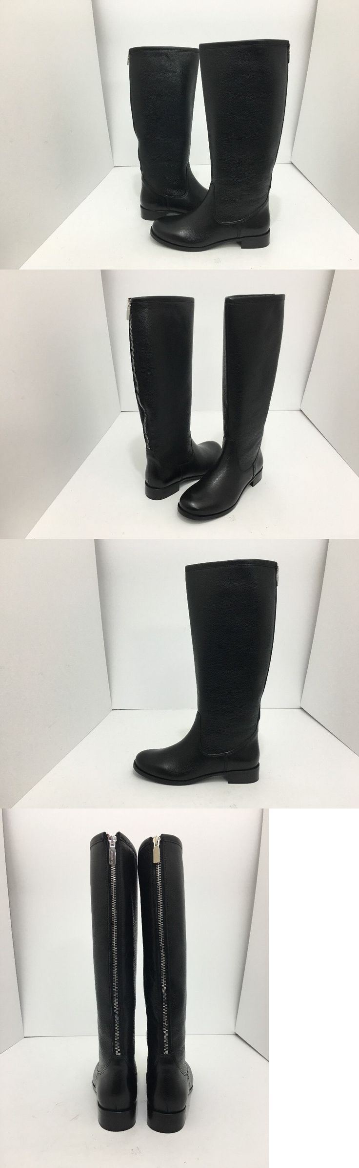 Women Boots: La Canadienne Sarit Black Leather Waterproof Womens Knee High Boots Size Us 9.5 -> BUY IT NOW ONLY: $119.2 on eBay!