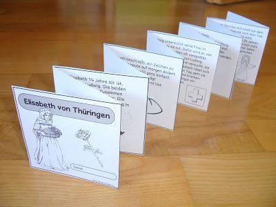 """Ideenreise: Leporello """"Elisabeth von Thüringen"""""""