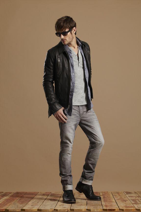 Henleys leather jacket