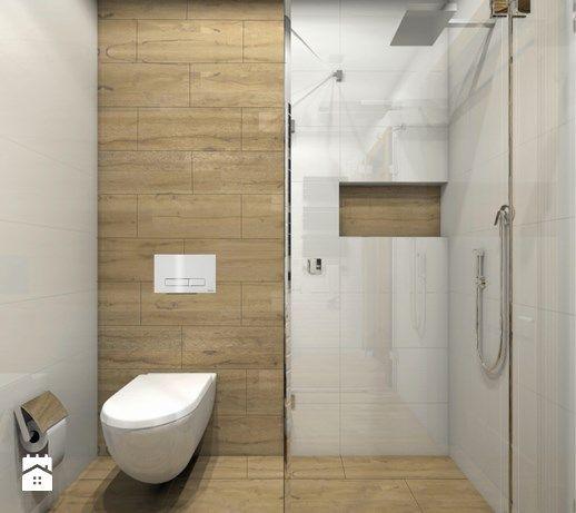 Mała gościnna łazienka - Łazienka, styl rustykalny - zdjęcie od architekt.klaudia.pniak