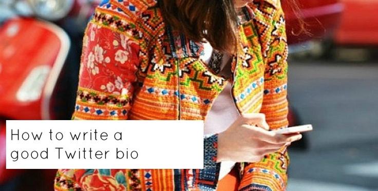 how to write a good twitter bio  twitter bio bio writing