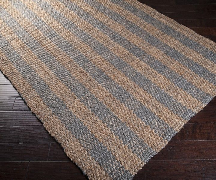 Gingham Rug: This Grey Jute Gingham Rug Is An Easy Home Accent To