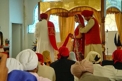 """""""They are not said to be husband and wife who merely sit together. Rather they alone are called husband and wife, who have one soul in two bodies.""""  Guru Amar Das Ji, Pauri, pg. 788"""