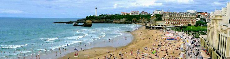 Abritel location appartement à Biarritz 50m Grande Plage, une des plus belles résidence, parking
