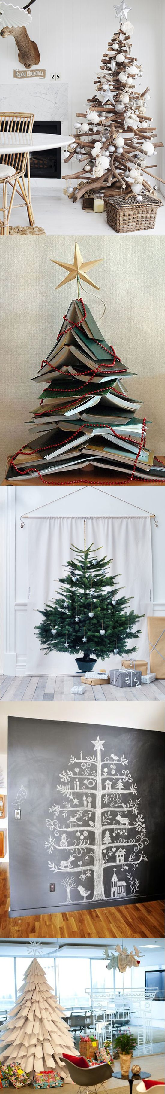 5 Christmas Trees You Don't Have to Water! Good ideas for people who don't have the space for a tree