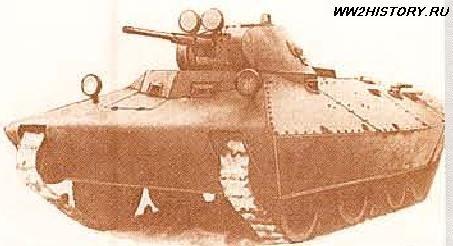 """Опытный колесно-гусеничный танк БТ-СВ-2 """"Черепаха"""" » Танки, САУ, Артиллерия, стрелковое оружие, минное оружие, авиация, инженерная техника сражавшихся сторон. Тайны Второй мировой войны.Битвы, сражения Второй мировой войны на WW2History.ru"""