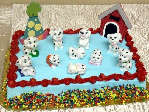 101 dalmations birthday cake