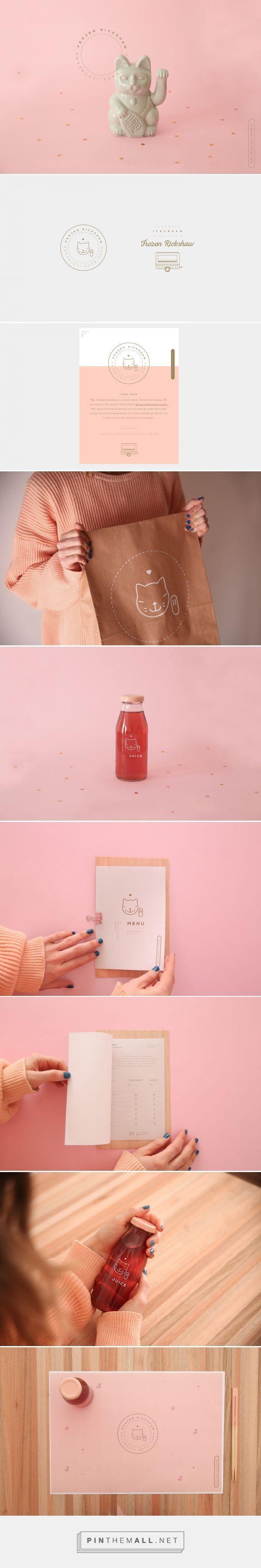 Frozen Rickshaw Branding by Un Barco on Behance | Fivestar Branding – Design and Branding Agency & Inspiration Gallery