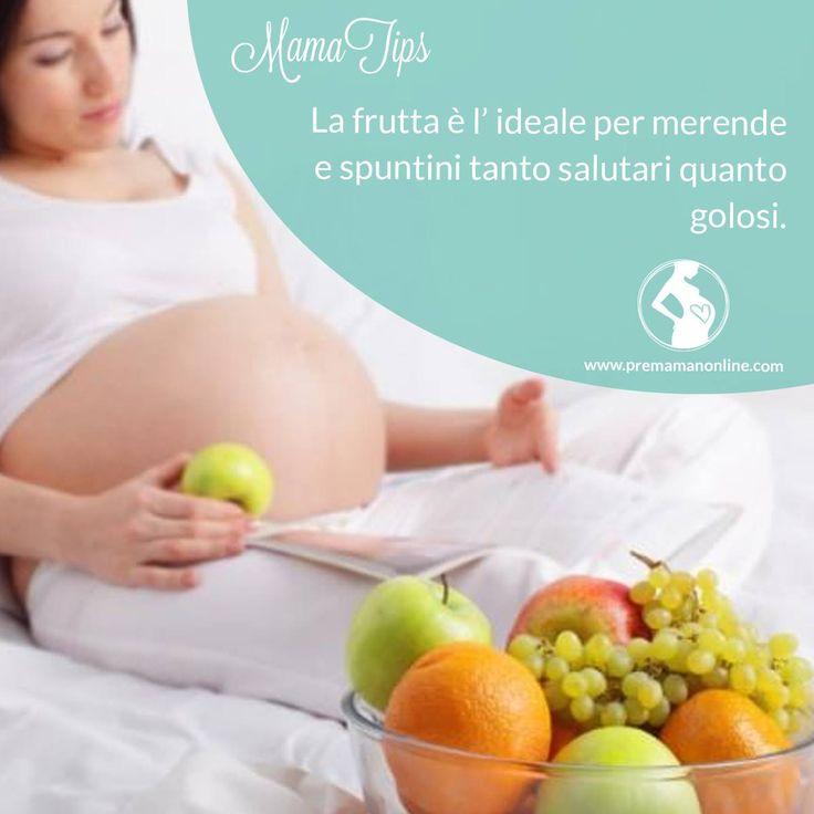 #Mamatips è ora dello spuntino! Ricca di vitamine, antiossidanti, minerali e fibre la frutta è lo spuntino ideale per le mamme che devono tenere sotto controllo il peso.