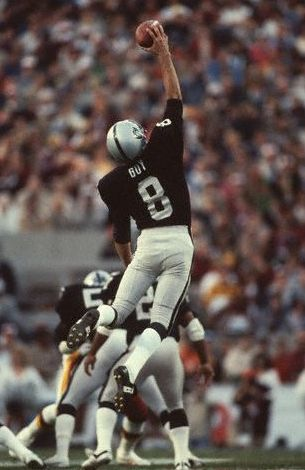 Ray Guy was the first punter ever selected in the 1st round of the NFL draft. He was an 8x All-Pro and is widely considered to be the greatest punter ever.