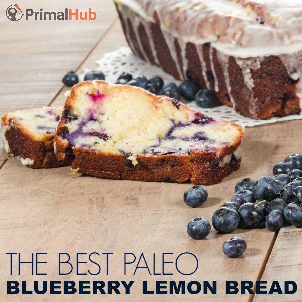 The Best Paleo Blueberry Lemon BRead #paleo #Bread #lemon #blueberry #grainfree …