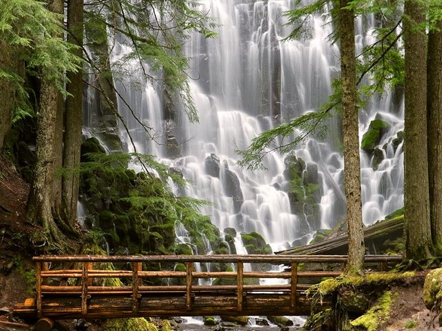 Ramona Falls, Mount Hood Wilderness, Oregon