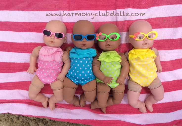 """Our 18"""" doll clothes fit a variety of baby dolls. Doll clothes and doll accessories at www.harmonyclubdolls.com Harmony Club Dolls"""