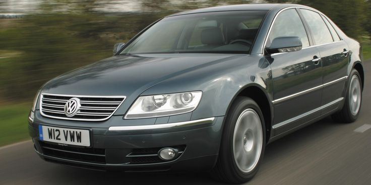 Volkswagen Phaeton W12 - Understated AWESOME! America just wasn't ready to pay that much for anything wearing a VW badge!