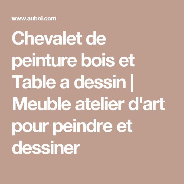 1000 id es sur le th me chevalet peinture sur pinterest chevalet atelier peinture et chevalet - Chevalet de table peinture ...
