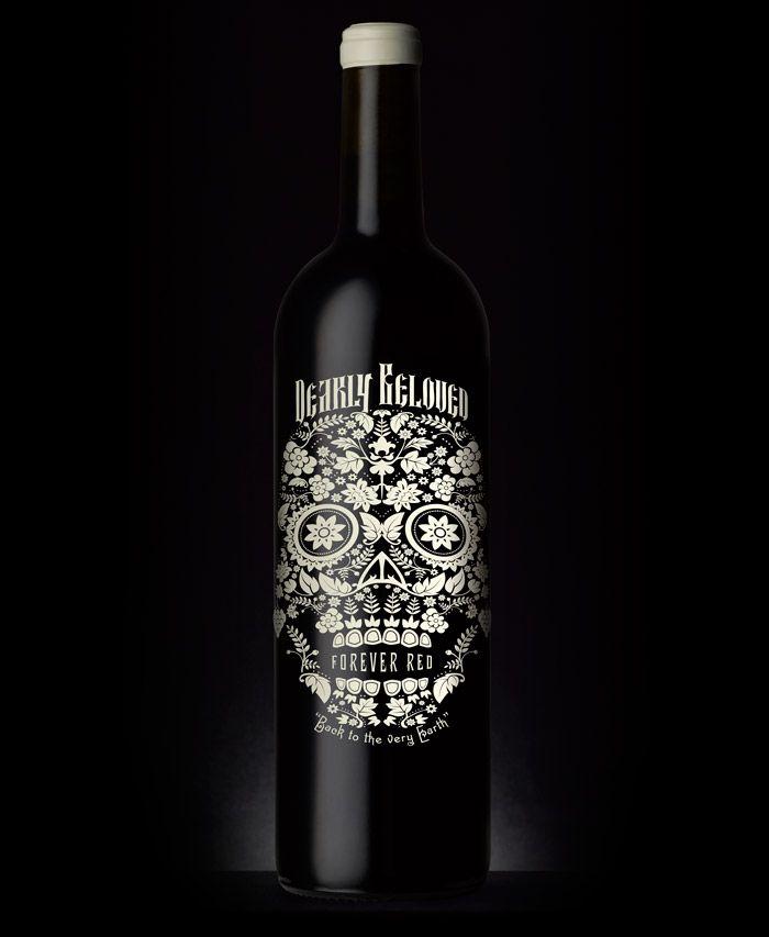 dearly beloved wine packaging via the Dieline: Wine Bottle Design, Wine Packaging, Red Wine, Dear Beloved, Wine Labels, Packaging Design, Packaging Labels, Beloved Red, Beloved Wine