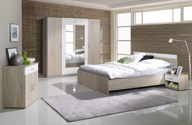 Pekná spálňa s poriadkom