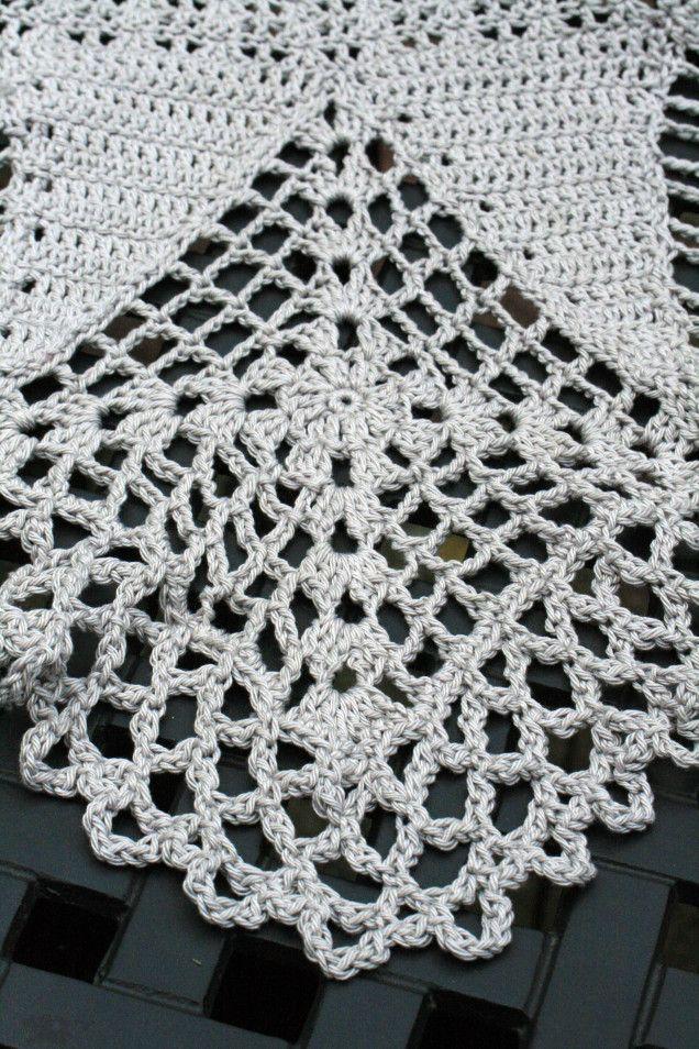 Crochet Skirt Hemline Square 3