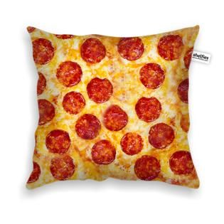 Party Pizza Throw Pillow Case