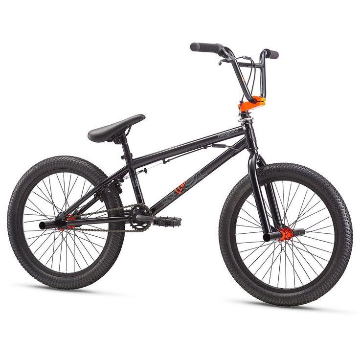 Youth Mongoose 20-Inch Legion L10 BMX Bike, Black