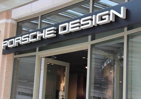 PORSCHE DESIGN store front