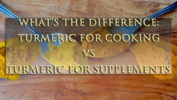 organic turmeric curcumin vs standardized turmeric curcumin
