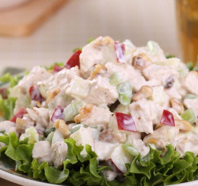Recept Salát s kuřecím masem