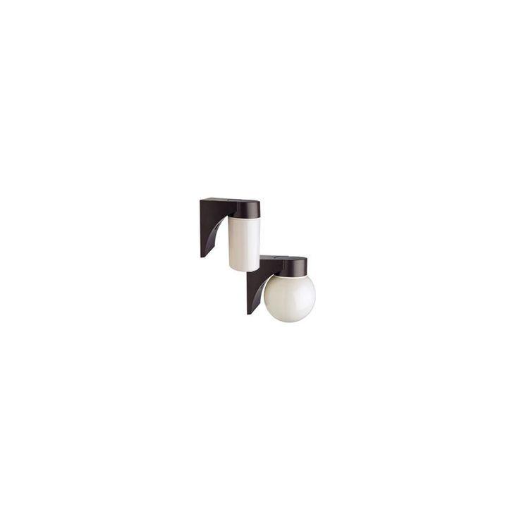 """Lithonia Lighting JJ50SL 120 M6 6.375"""" 1 Light 50 Watt HPS Outdoor Entry Wall Sc Dark Bronze Commercial Lighting Wall Lights Utility Lights"""