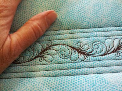 Sew-n-Sew Quilting- Itty Bitty Feathers