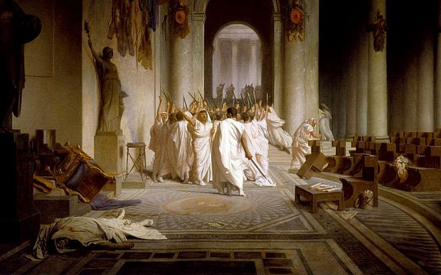 The Ides of March: The assassination of Julius Caesar and how it changed the world - Telegraph