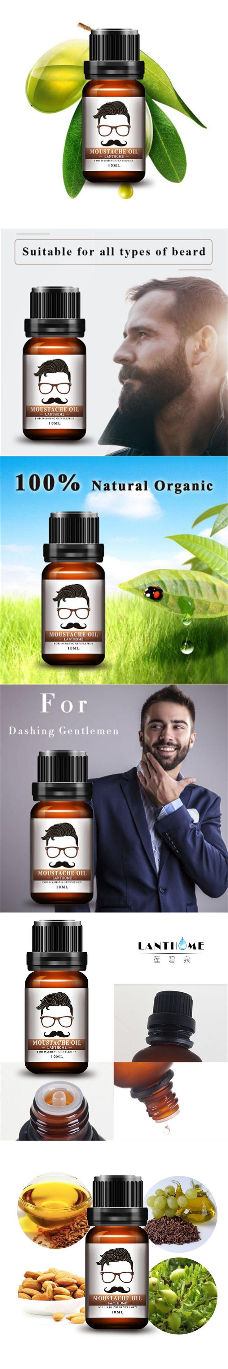 New Beard Growth oil beards hair Thicker Essence Mustache Thick sideburn Treatment Sunburst alopecia Serum Product beard shaping