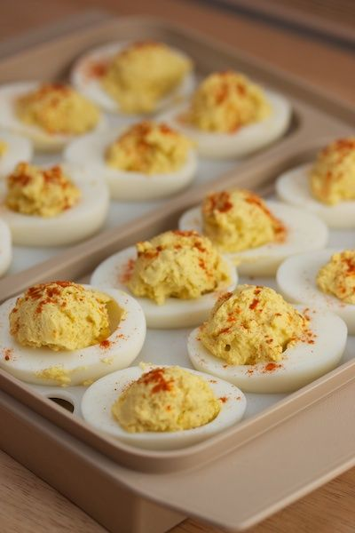Thanksgiving: Deviled Eggs | Big Flavors from a Tiny Kitchen