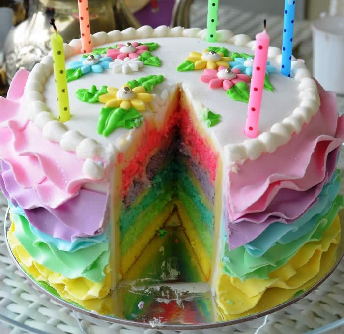 Ruffled Layer Cakes