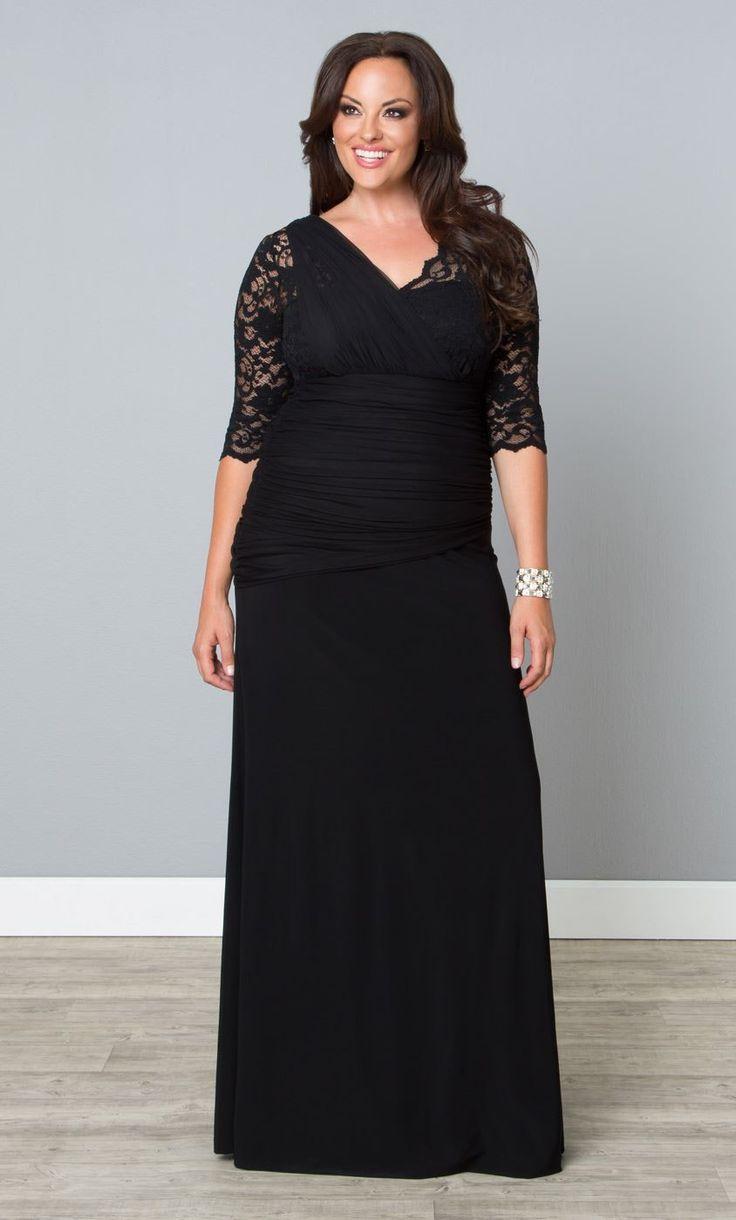 25 best black tie wedding guest dresses ideas on for Black tie wedding dresses plus size