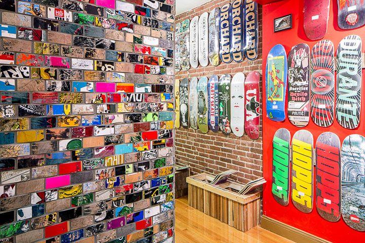 San Diego Downtown Skateboard Shop