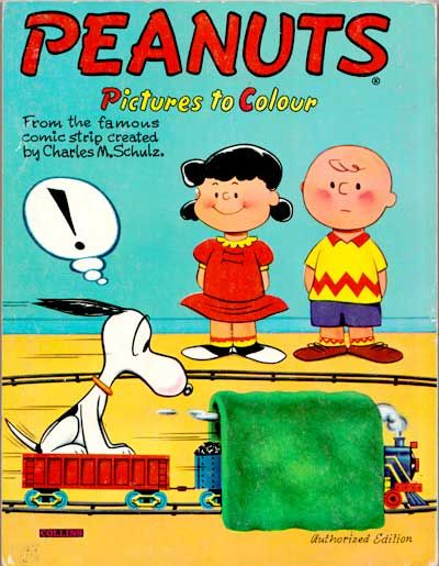 Peanuts Pictures to Colour